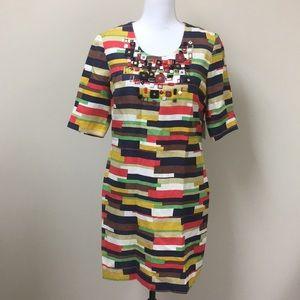 Milly of New York Silk Blend Sheath Dress